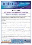 2018-19: Bulletin 6 New Membership Database and Online Portal
