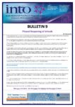 2020-21: Bulletin 9 – Phased Reopening of Schools