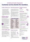 INTO Customer Service Charter