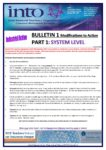 2019-20: Bulletin 1 Part 1 – Modifications to Industrial Action: Part 1: System Level