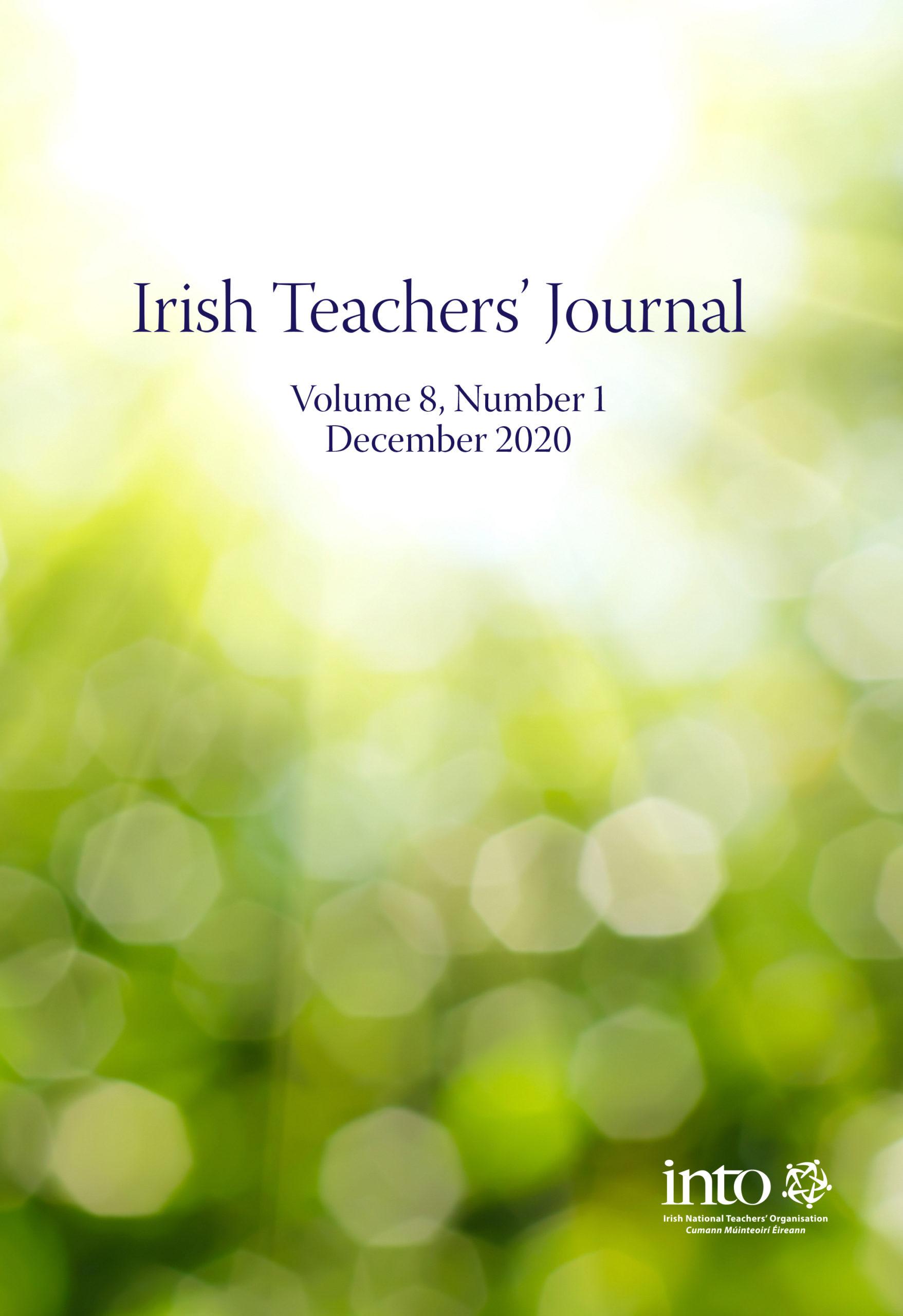 Irish Teachers' Journal 2020 Vol 8