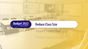 reduce class sizes 2022