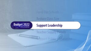 support leadership
